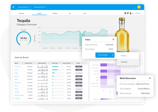Yellowfin Assisted Insights
